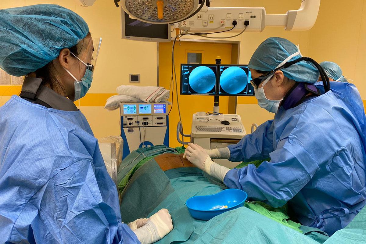 Calming an overactive bladder with Sacral Nerve Stimulation (SNS)